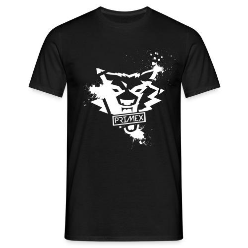 PriMeX Logo Farbkleckse - Männer T-Shirt