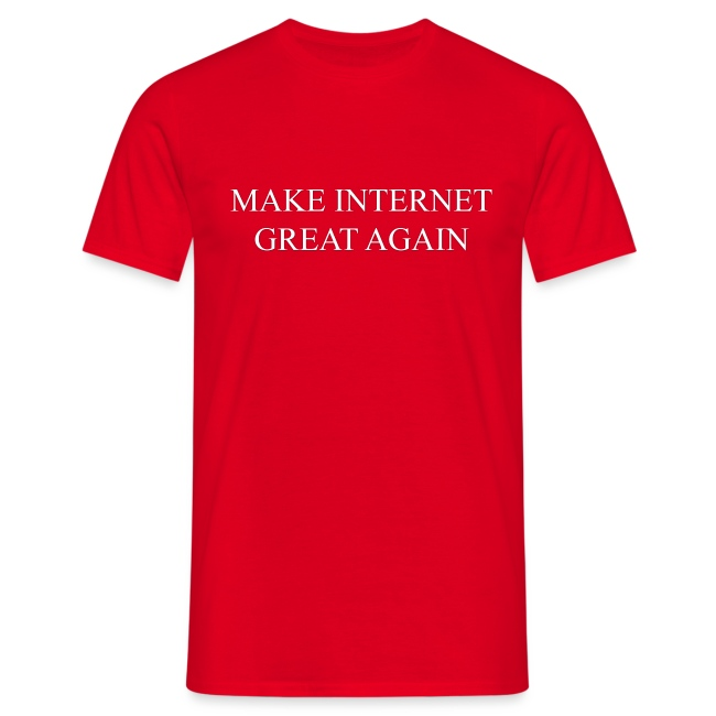 Make Internet Great Again