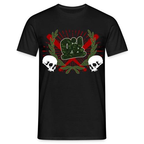 oi lorberkranz - Männer T-Shirt