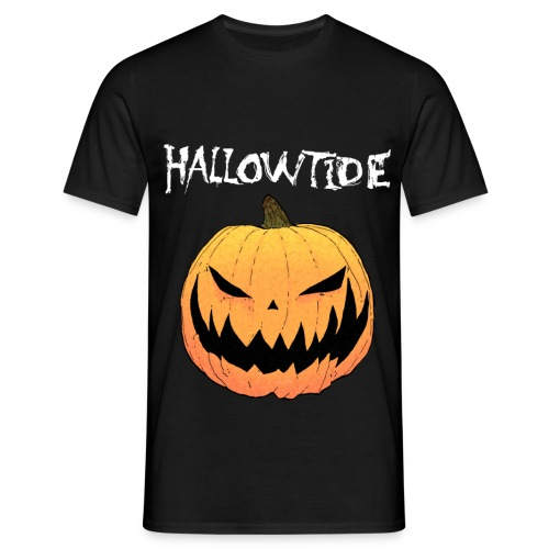 T Shirt orange pumpkin black 2014 png - Men's T-Shirt