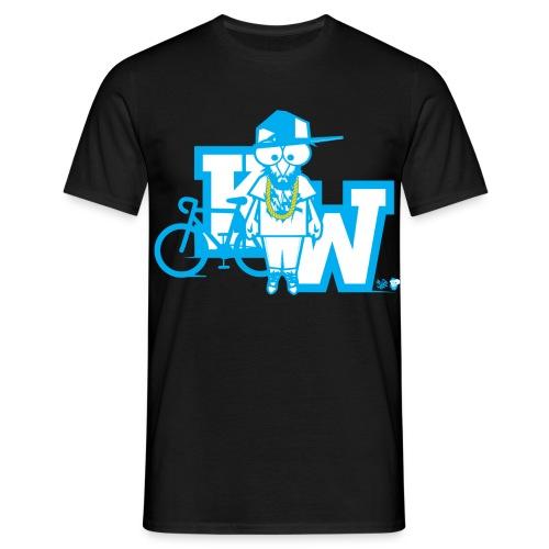 kevoeheadkoerperohneglasses2 - Männer T-Shirt