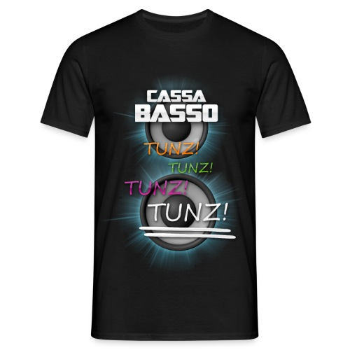 ITALODANCE Cassa Basso - Men's T-Shirt