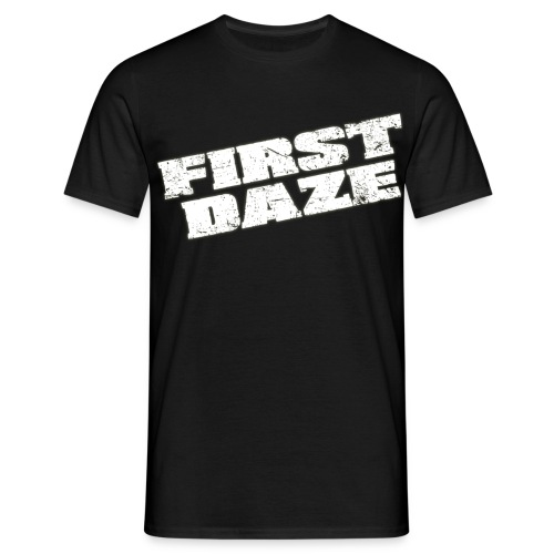 schriftzug transparent - Männer T-Shirt