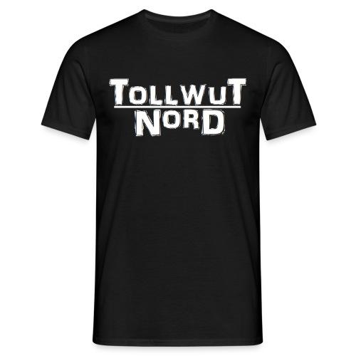 tollwut logo clean schwarz png - Männer T-Shirt