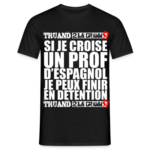 Jpeux finir en détention - T-shirt Homme