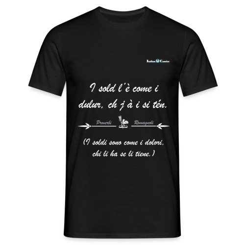 soldi_bianco - Maglietta da uomo