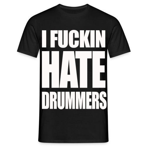 IFHD white - Men's T-Shirt