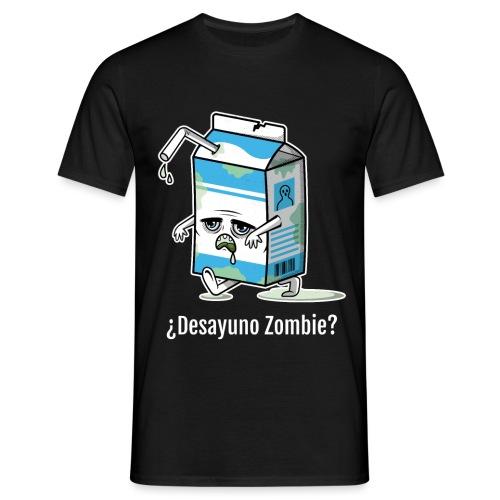 Desayuno Zombie | Brick de Halloween - Camiseta hombre