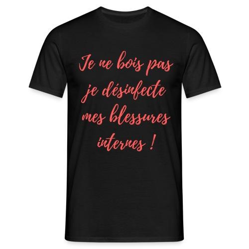 boire - T-shirt Homme