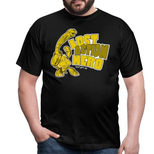 Riesenschildkröte - Lost Action Hero - Männer T-Shirt