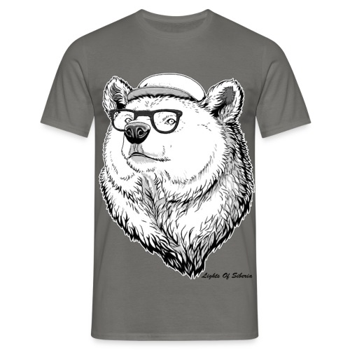 Lights Of Siberia - Men's T-Shirt