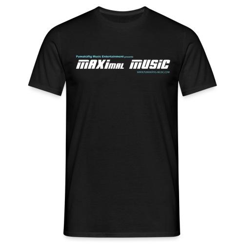 maximal music logo01 - Männer T-Shirt