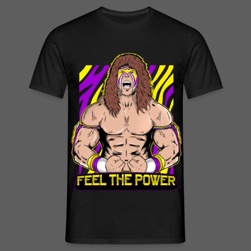 UW Feel The Power - Men's T-Shirt