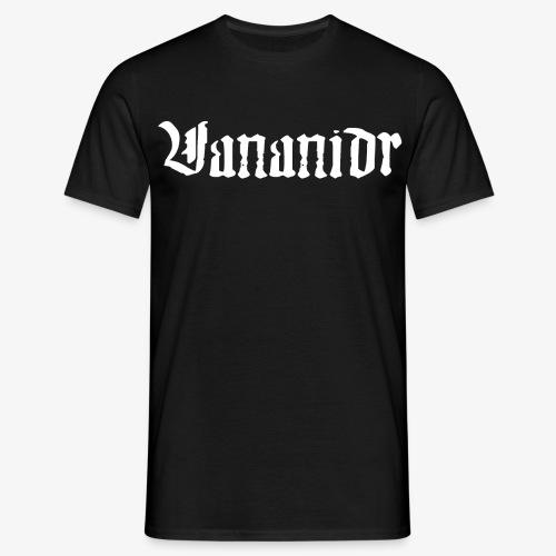 Vit logo - T-shirt herr