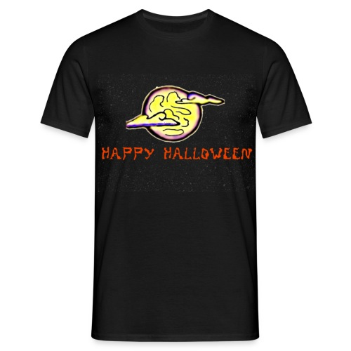 Halloween Moon - Men's T-Shirt
