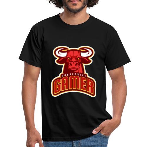 Agressive Gamer - T-shirt Homme