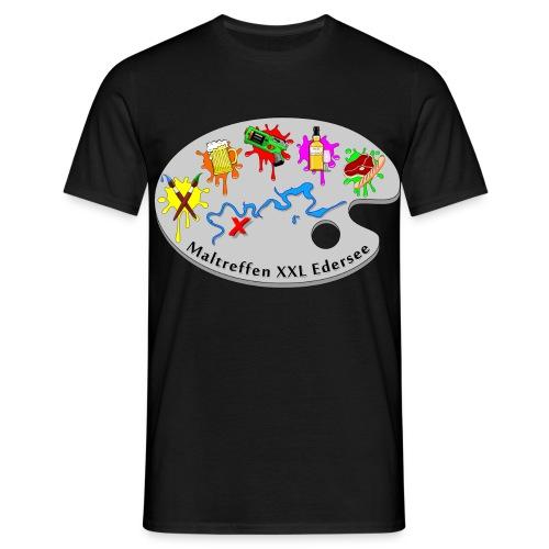 Maltreffen XXL Edersee - Männer T-Shirt