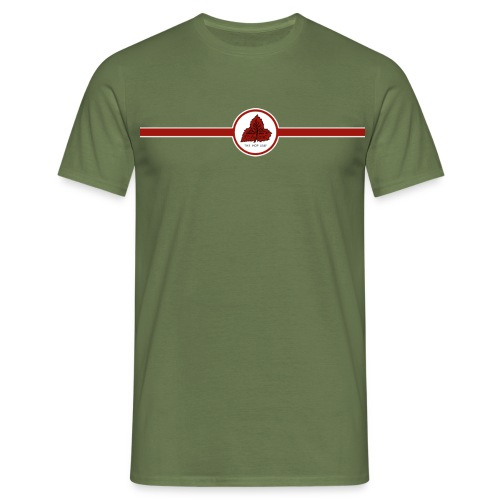 Simonds' Brewery Vaults Reading (Double Sided) - Men's T-Shirt
