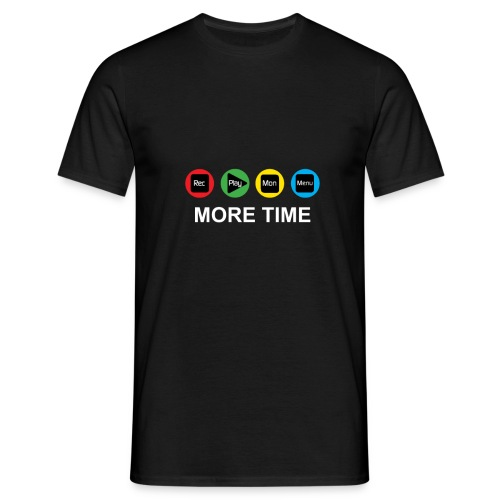 MORE TIME Front png - Men's T-Shirt