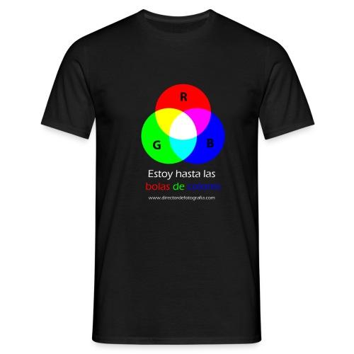bolas de colores - Camiseta hombre
