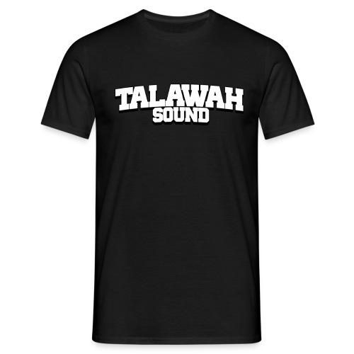 talawah logo schrift png - Männer T-Shirt