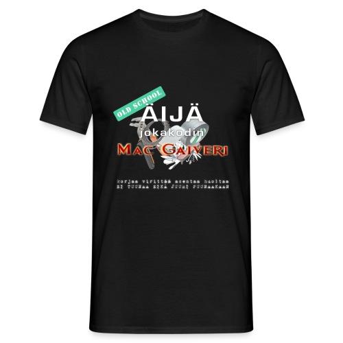 Old School Äijä - Miesten t-paita