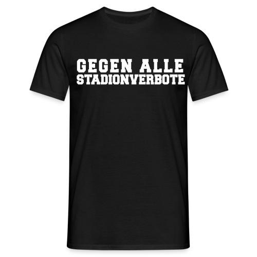 Stadionverbote png - Männer T-Shirt