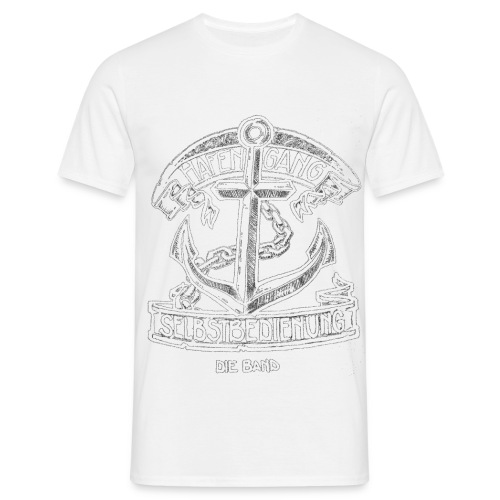 Hafengang Shirt Logo3 umgekehrt png - Männer T-Shirt