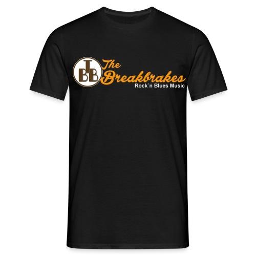 Breakbrakes Schriftzug Tshirt png - Männer T-Shirt