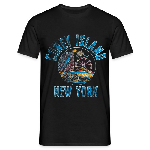 Coney Island NYC - T-shirt Homme
