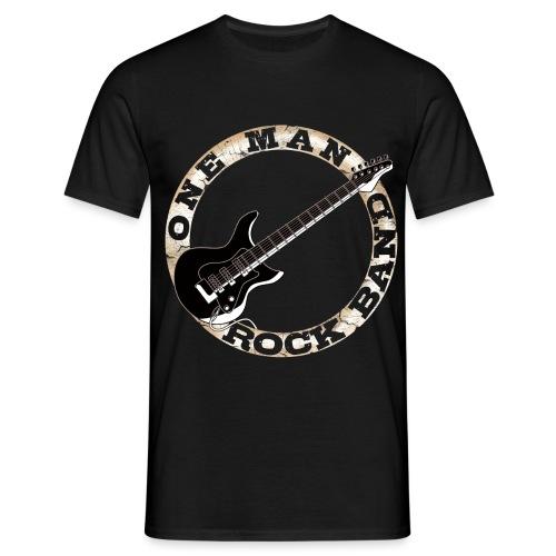 One Man Rock Band - Men's T-Shirt