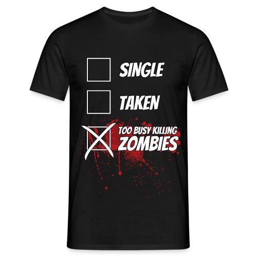 Z. Relationship Status - Men's T-Shirt