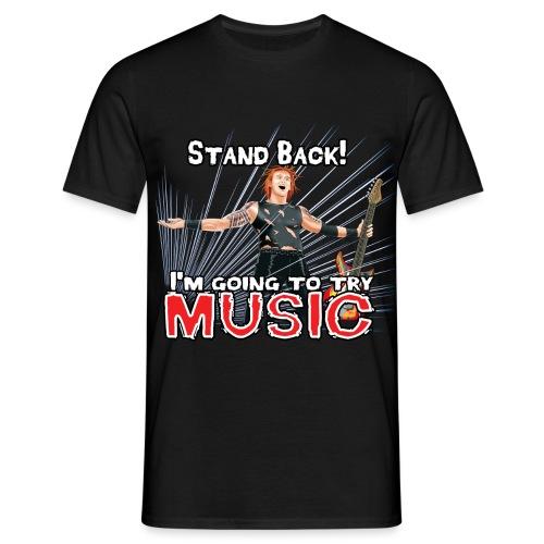 Beware of Music - Men's T-Shirt