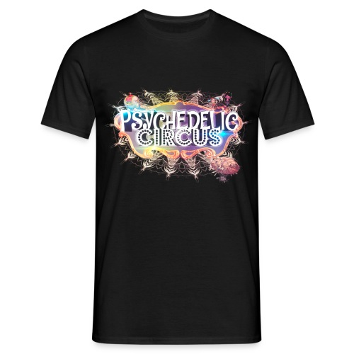 Psychedelic Cricus Print - Männer T-Shirt