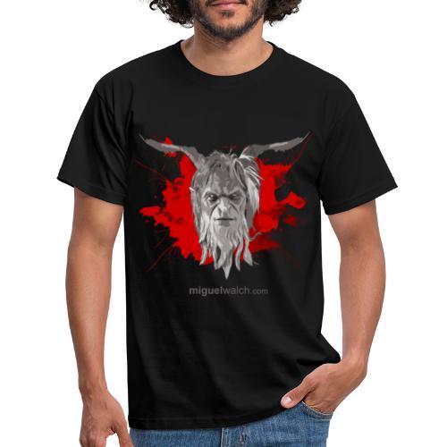 grey red final png - Männer T-Shirt