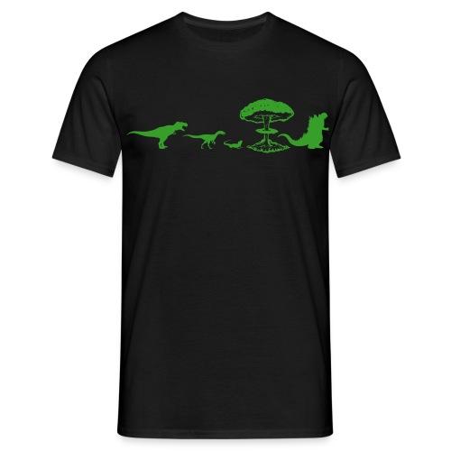 Godzilla Evolution - T-shirt Homme