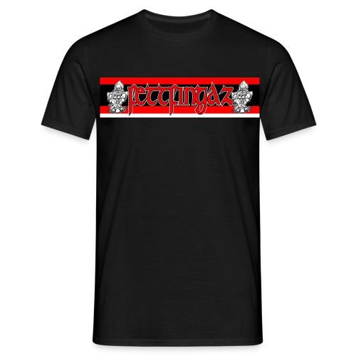 FettLogo001 2 jpg - Männer T-Shirt