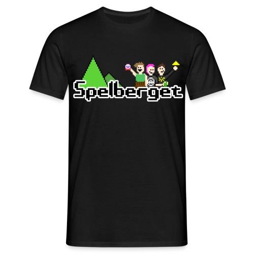 Spelberget logo - T-shirt herr