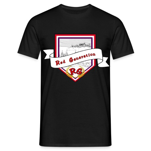 Logo Red Generation - Männer T-Shirt