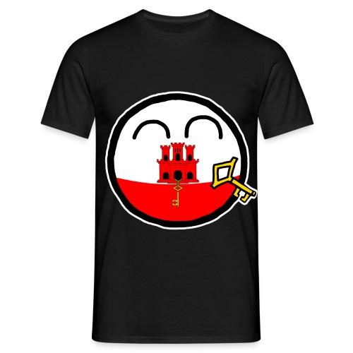 Gibraltarball - Men's T-Shirt