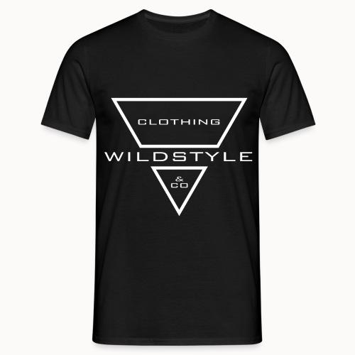 WildstyleLogo-Header-w - Männer T-Shirt