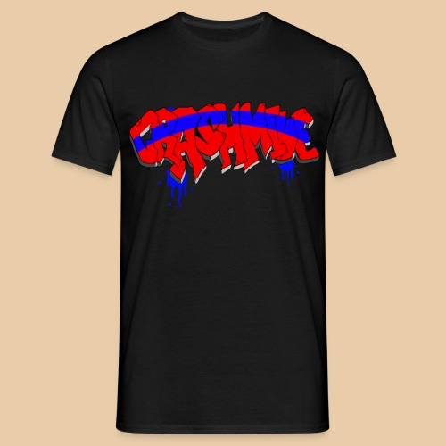 CrashMine net Graffiti - Männer T-Shirt