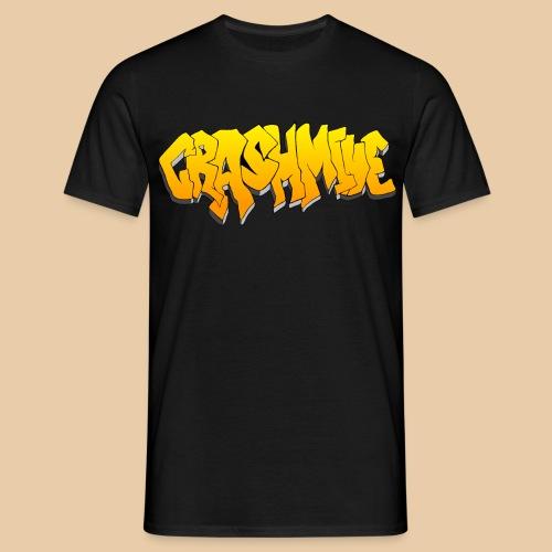 CrashMine net Gold - Männer T-Shirt
