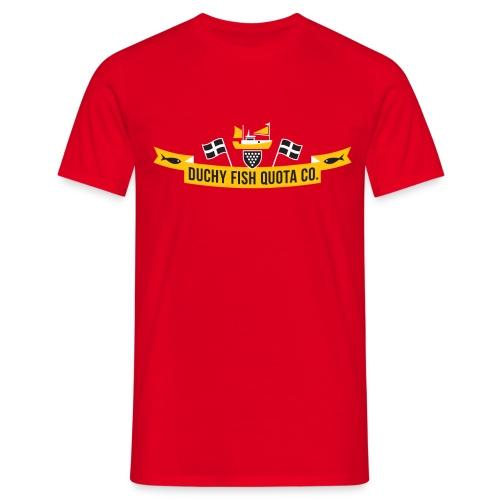 DFQC_Logo_Black_Bkgd - Men's T-Shirt