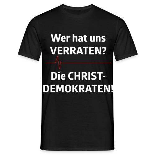 Wer hat uns verraten - Männer T-Shirt