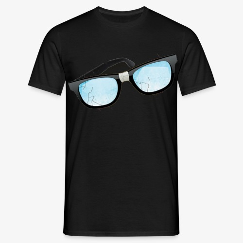 Chaos Brille - Männer T-Shirt