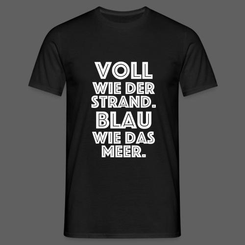 Voll2 png - Männer T-Shirt