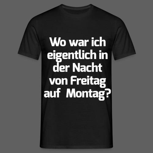 Nacht png - Männer T-Shirt