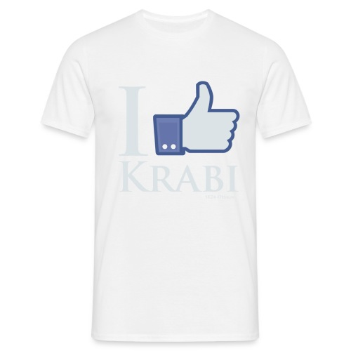 Like Krabi White - Männer T-Shirt