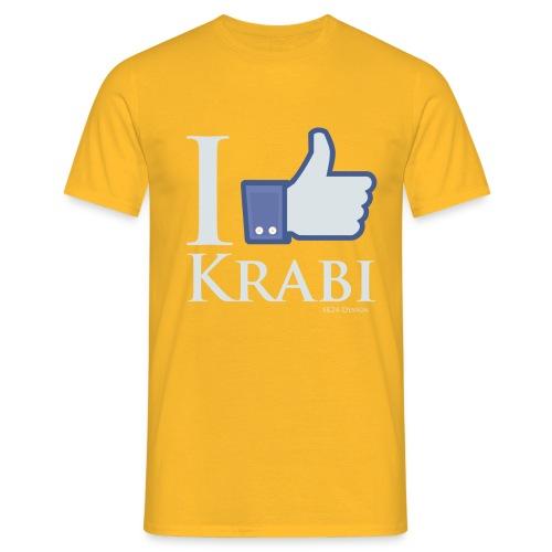 Like Krabi White - Männer T-Shirt